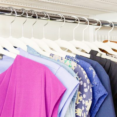 One Simple Solution For A Cleaner Closet